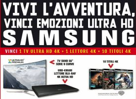 Concorso MediaWorld: vinci TV, lettore DVD e 10 film Warner