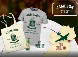 Gioca on line e vinci un esclusivo kit Jameson Whiskey
