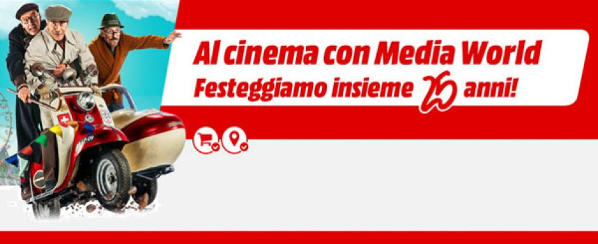 "Media World ti regala i biglietti del film ""Fuga da Reuma Park"""