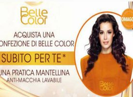 Garnier Belle Color ti regala la mantellina antimacchia