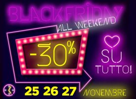 Il Black Friday di Pittarello dura tutto il weekend!