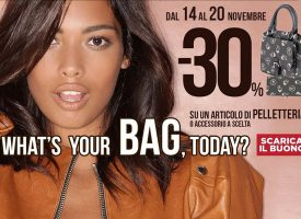 What's your bag today? Scarica il nuovo coupon Pittarello!