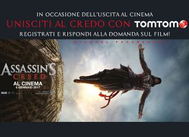 Gioca e vinci con Assassin's Creed e TomTom