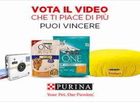 Vota il tuo video preferito e vinci con PetPassion