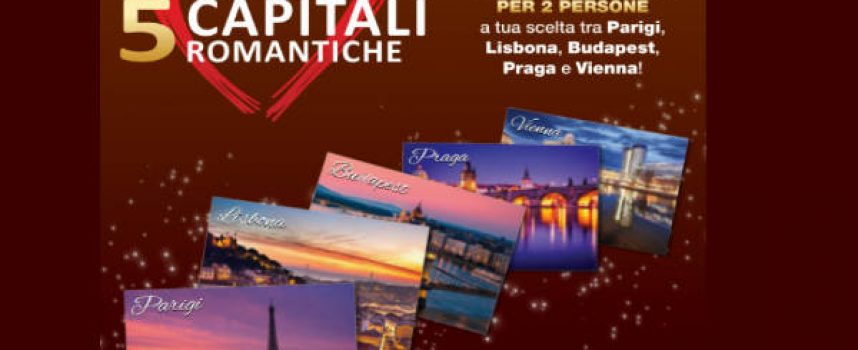 Vinci un weekend in una capitale romantica con Novi