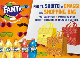 Notebook, Snack Bowl e Shopping Bag in omaggio da Fanta