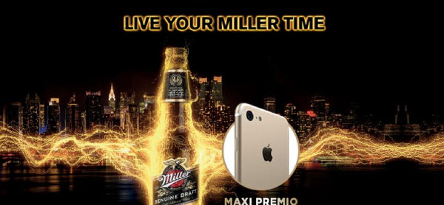 Ordina una birra Miller da Old Wild West e vinci un iPhone 7
