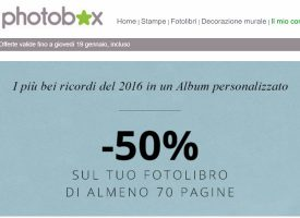 Saldi d'inverno su Photobox!