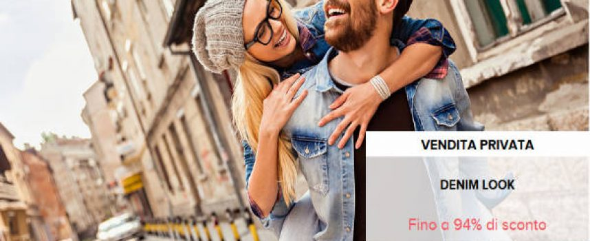 Denim Look: sconti fino al 94% su BrandAlley