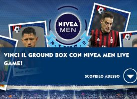 Con Nivea Men vinci i biglietti per il Ground Box a San Siro