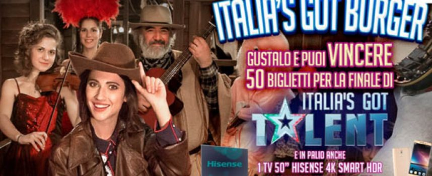 Vinci i biglietti per la finale di Italia's Got Talent con Old Wild West