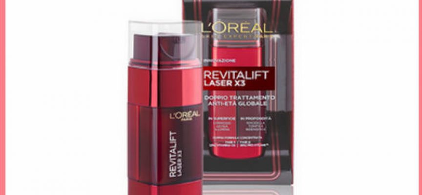 Prova gratis Revitalift Laser X3 con Opinion Model