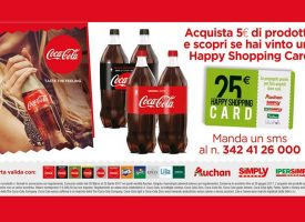 Vinci una Happy Shopping Card da 25 euro con Coca-Cola