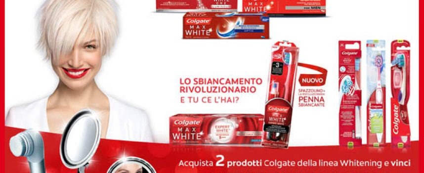 Acquista Colgate e vinci un kit di bellezza Imetec
