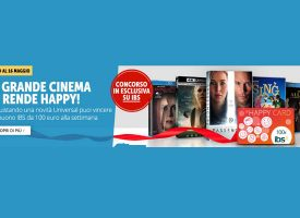 Acquista un film Universal e vinci una Happy Card IBS da 100 euro
