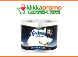 Klikkapromo: scarica i nuovi coupon Tenderly Carezza di Latte