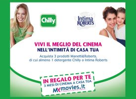Chilly e Manetti & Roberts ti regalano 3 mesi di cinema