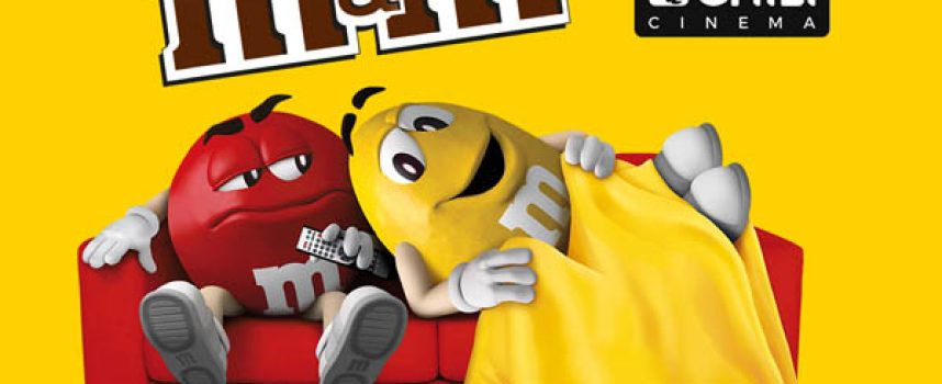 M&M's ti regala tre mesi di film e serie TV