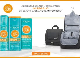 Sublime Sun ti regala il Beauty Case American Tourister