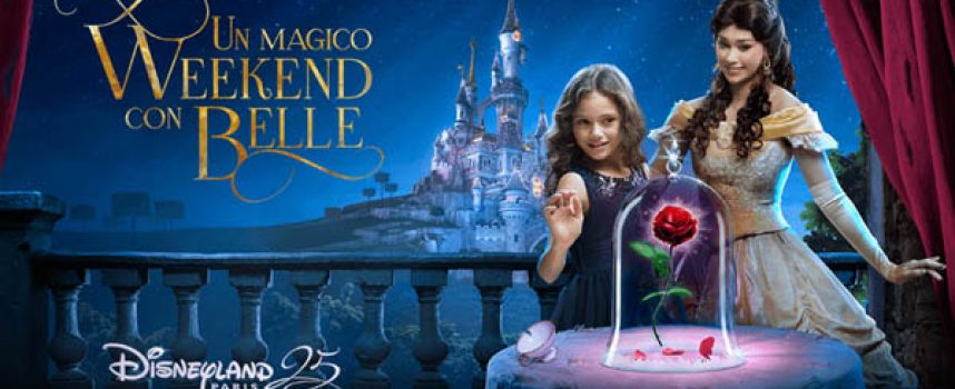 "Vola a Disneyland Paris con The Space e ""La Bella e la Bestia"""