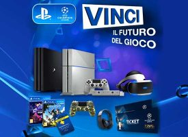 Just 4 PlayStation Fan: vinci 2 biglietti per la Finale di UEFA Champions League e altri fantastici premi
