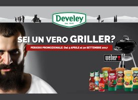 Gioca con Develey e vinci un Barbecue Weber