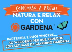 Vinci un week end per due persone con Gardena