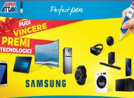 Con Super Attak Perfect Pen vinci la tecnologia Samsung