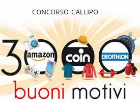 Gusta i filetti Callipo e vinci buoni Amazon, Coin e Decathlon