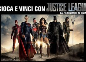"Vinci gratis i gadget e i biglietti cinema per ""Wonder Woman"" e ""Justice League"""