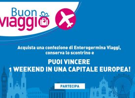 Vinci un weekend in una capitale europea con Enterogermina Viaggi