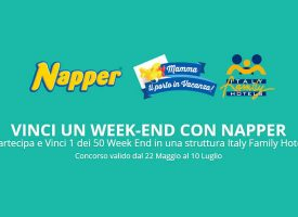 Gioca con Napper e vinci un weekend in un Italy Family Hotel