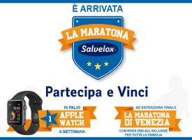 Vinci un Apple Watch a settimana con la Maratona Salvelox