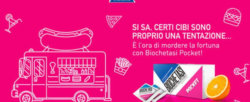 Gioca con Biochetasi Pocket: in palio gift card Amazon e iPhone 7