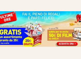 Casa Henkel: in regalo uno dei Kit Indispensabili e 50 euro su Chili TV