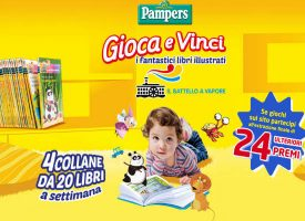 Vinci una collana di libri illustrati con Pampers Baby Dry