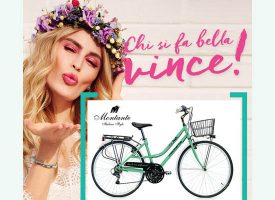Fai shopping da Douglas e vinci l'esclusiva bicicletta City Dream