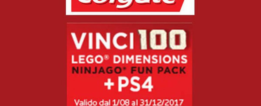 Sorridi con Colgate e Lego Ninjago Movie