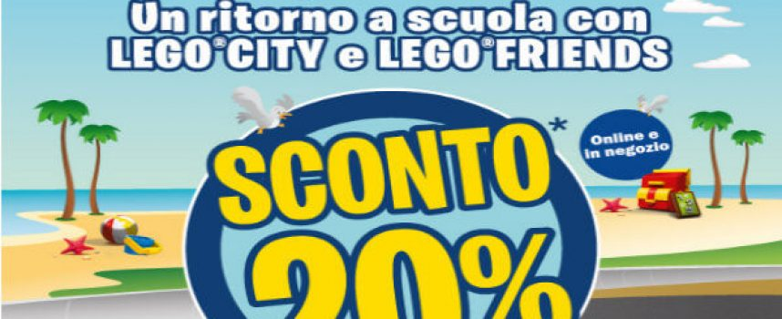 Estate scontata con Lego