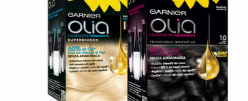 Prova gratis la colorazione per capelli Olia con Opinion Model
