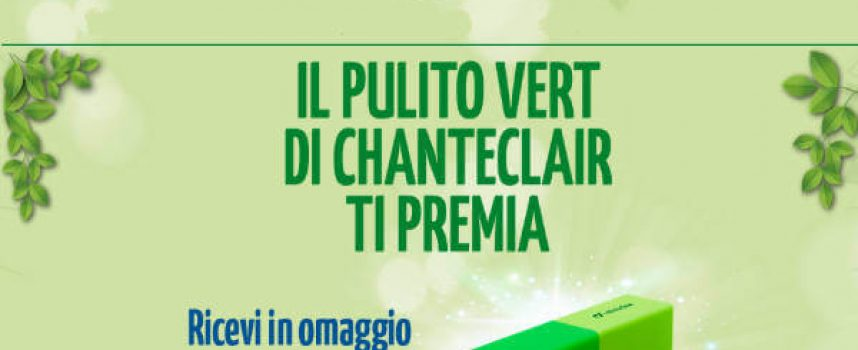 Chanteclair Vert ti regala la powerbank Cellularline