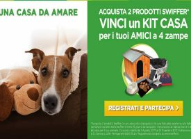 Vinci un kit casa per il tuo animale con Swiffer