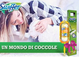 Coccola il tuo animale e vinci un kit Swiffer con Desideri Magazine