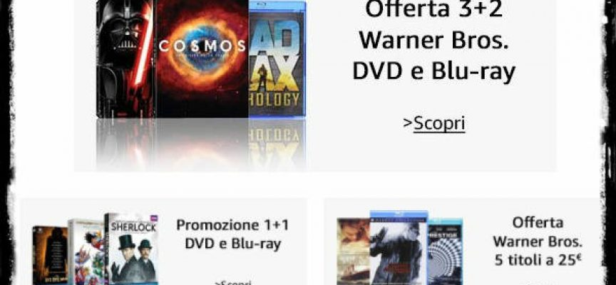 Amazon: cinema e serie tv in promozione