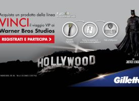 Acquista Fusion Proshield e vinci un viaggio da sogno a Hollywood