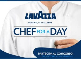Chef for a day: vinci un'esperienza unica con Lavazza