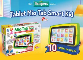 Gioca con Pampers e Mukako e vinci il Tablet Mio Tab Smart Kid