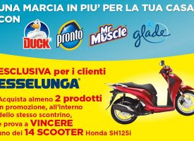 Gioca con Esselunga e S.C. Johnson e vinci uno scooter Honda