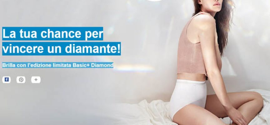 Brilla con Sloggi Basic+ Diamond e vinci un diamante