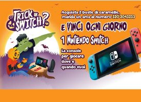 Trick or Switch? Gioca con Sperlari e vinci una console Nintendo Switch